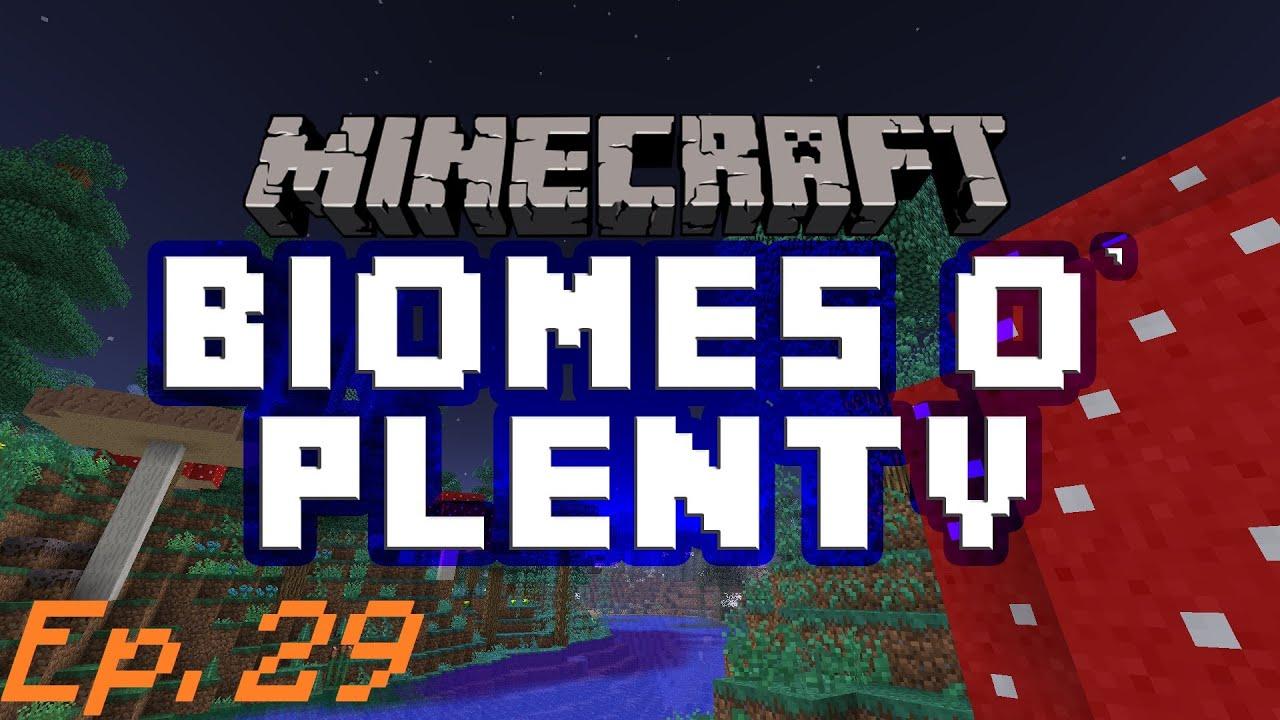 how to set server to biomes o plenty
