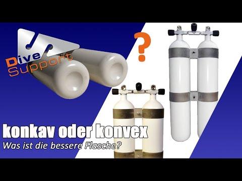 Konkav oder Konvex? Was ist die bessere Flasche? | DiveSupport
