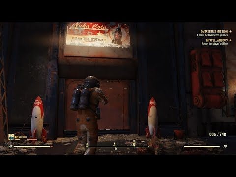 Fallout 76 TNT Dome Key 3 Amp Nuka Cola Power Armor Plans Walkthrough YouTube