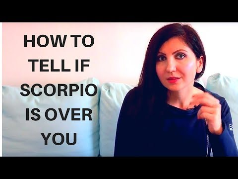How do you know when a scorpio man hates you