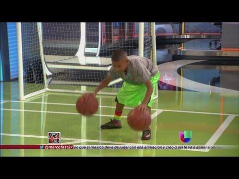 Julian Newman puso a jugar basketball a Fernando Fiore - República Deportiva