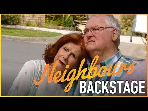 Neighbours Backstage - Harold leaves Ramsay Street