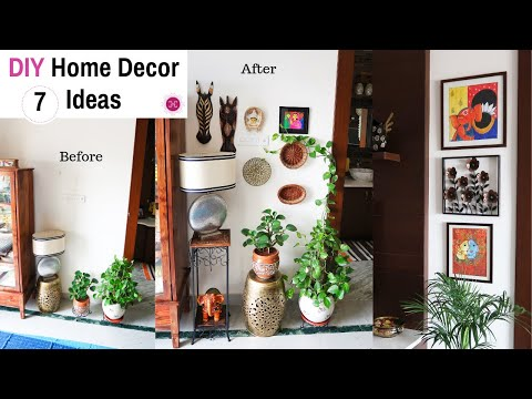 EASY Budget Friendly DIY Home Decorating Ideas Indian Style