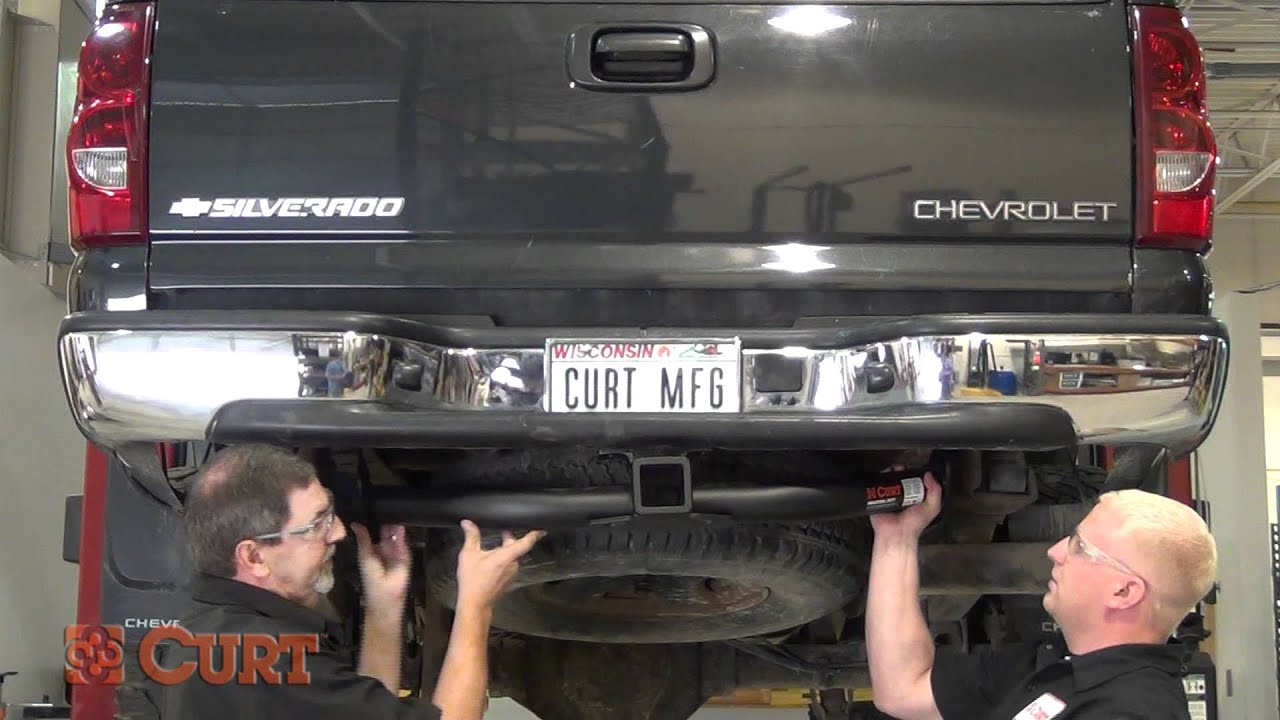 Trailer Hitch Install: CURT 15602 For 2001-2010 Chevrolet