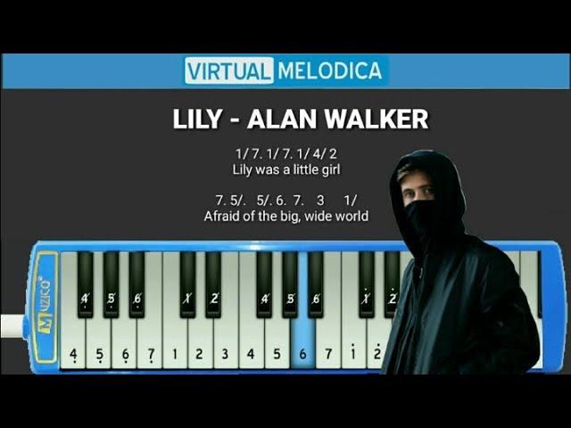 Not Pianika Lily Alan Walker K 391 Emelie Hollow Youtube