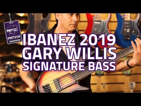 Ibanez 2019 Gary Willis Signature 20th Anniversary Fretless Bass
