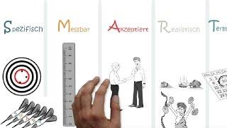 ⌛📊✏📍SMART Ziele setzen und erreichen einfach und lustig erklärt (Legetechnik Erklärvideo)