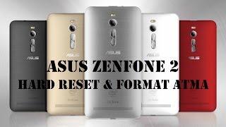 Asus ZenFone 2 Hard Reset & Format Atma İşlemleri (Android 5.0)