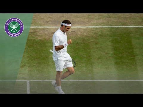 Match Point: Roger Federer vs Kei Nishikori Wimbledon 2019