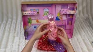 Распаковка детской игрушки/ Набор куклы для девочек/Обзор куклы с модными платьями