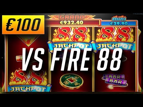 €100 VS FIRE 88: New Online Casino Slots (2018)