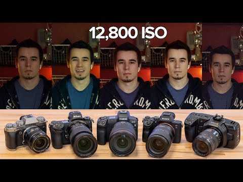 Canon EOS R vs Sony a7 III vs Nikon Z7 vs Fuji X-T3 : In condizioni di scarsa illuminazione