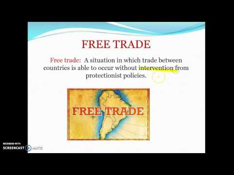 Costs and benefits of free trade