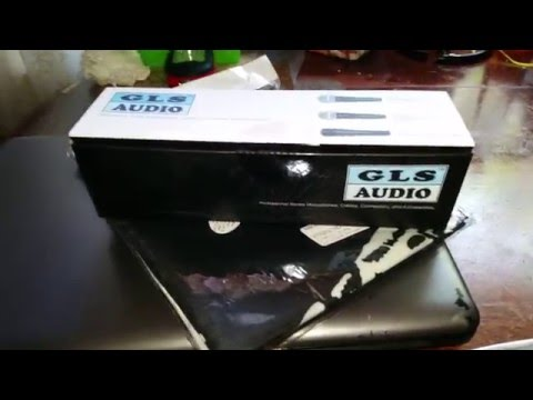 GLS Audio ES-57 Instrument Microphone Unboxing