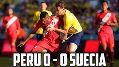 Perú 0 - 0 Suecia | Resumen del partido Amistoso Internacional