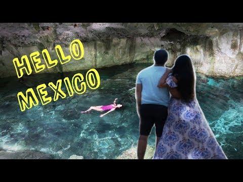 Oii México - Cenote dos Ojos - Playa del Carmen  Ep.06