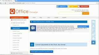 PDF to Word - How to Convert PDF to Word - FREE ONLINE!