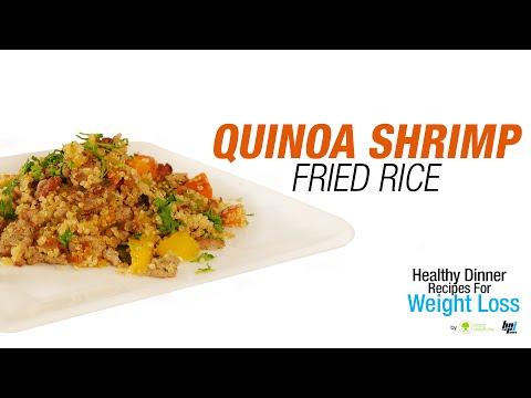 Quinoa Shrimp Fried Rice Healthy Dinner Recipes for Weight Loss BPI Sports