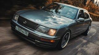 ЯПОНСКОЕ ЛУХУРИ! ПНЕВМА, ТАПКИ И ТЕКСТИЛЬ! Lexus LS400 #пневма #ls400