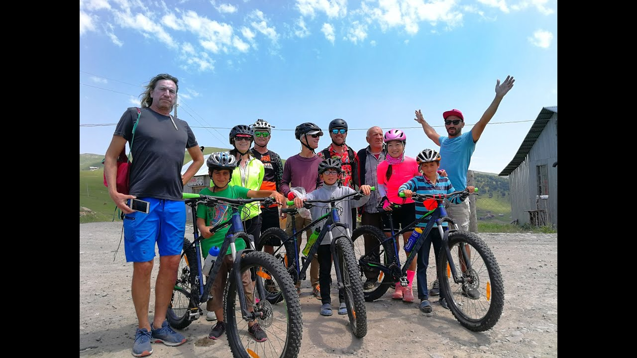 Mountain bike tour in North east Georgiaz