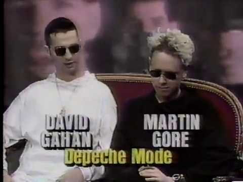 Depeche Mode on 120 Minutes 1990