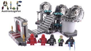 Lego Star Wars 75093 Death Star Final Duel - Lego Speed Build Review