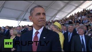 Обама не выдержал взгляд Путина