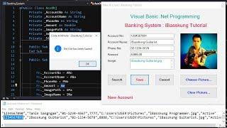 VB.Net 2017 (S. 2) Erstellen Sie eine Banking-System verwenden .CSV-text-Dateien zum speichern von Datensätze