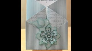 Gated Birthday Card - JanB UK Stampin