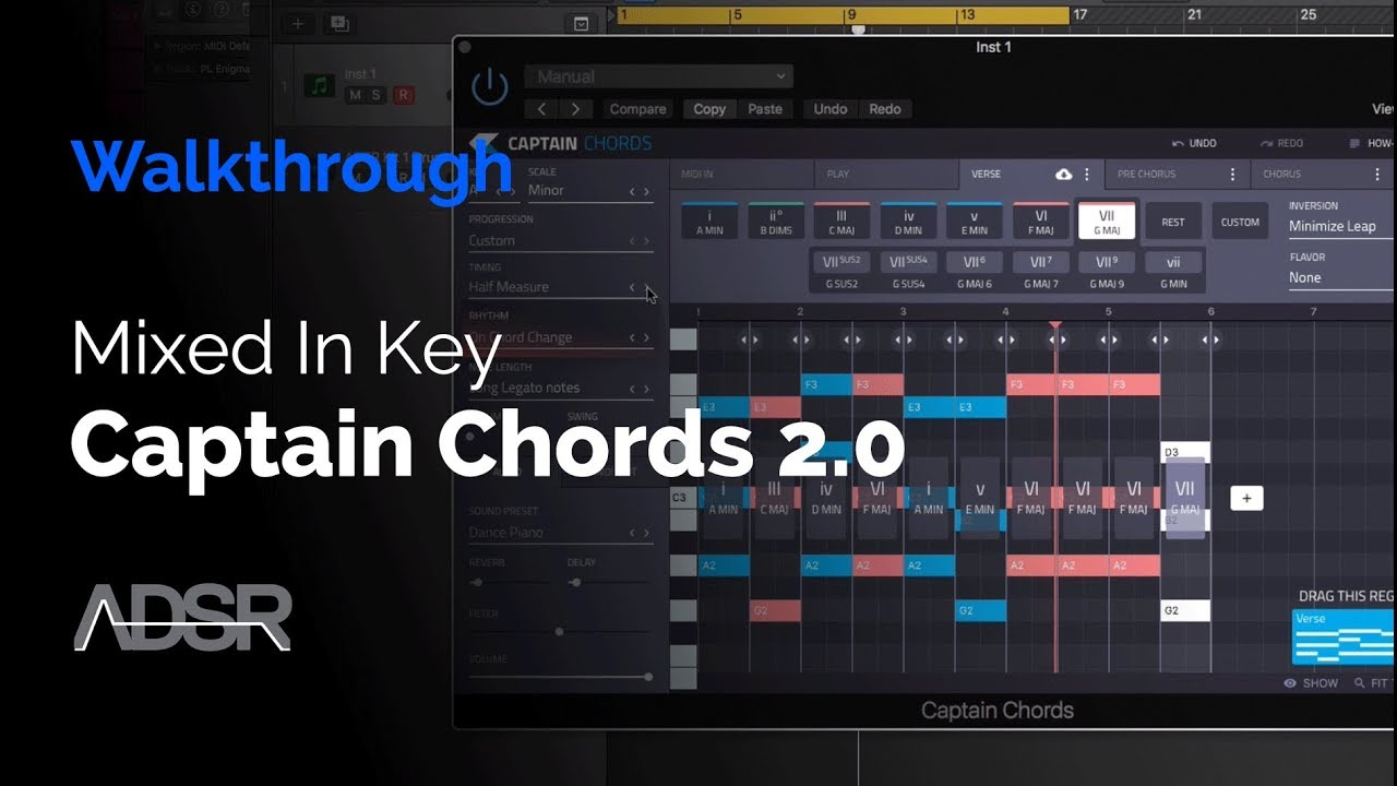 Captain Chords 2 0 walkthrough - Write memorable chords and hooks