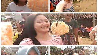 Lomba Makan Kerupuk Cewek Cewek Cakep Desa Kalisaleh Pemalang