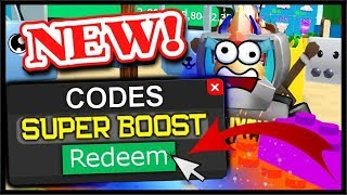 ALL *NEW* SUPER BOOST CODES & TOY LAND UPDATE! | Roblox Unboxing Simulator