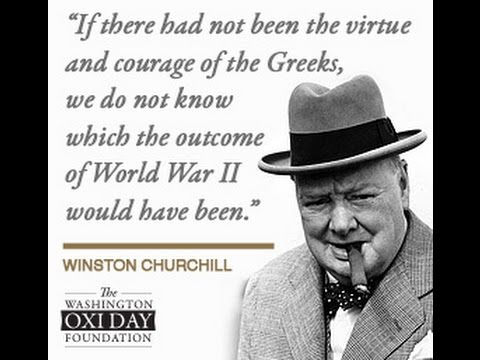 Today's World Leaders Praise Greek Courage