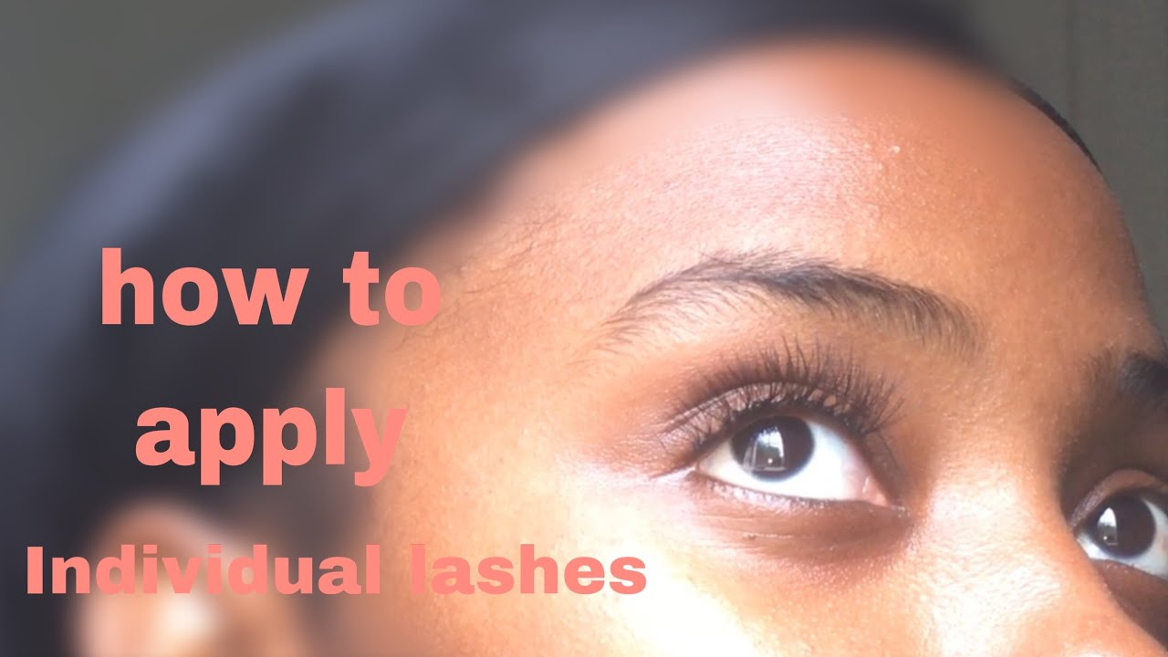 Download How to apply individual lashes❤️