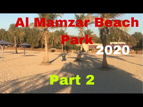 Dubai Al Mamzar Beach Park Part 2