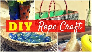 DIY Craft Projects with Rope/DIY Video