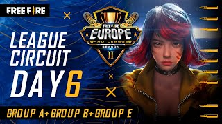 [EN] Free Fire Europe Pro League Season 2 - League Circuit Day 6