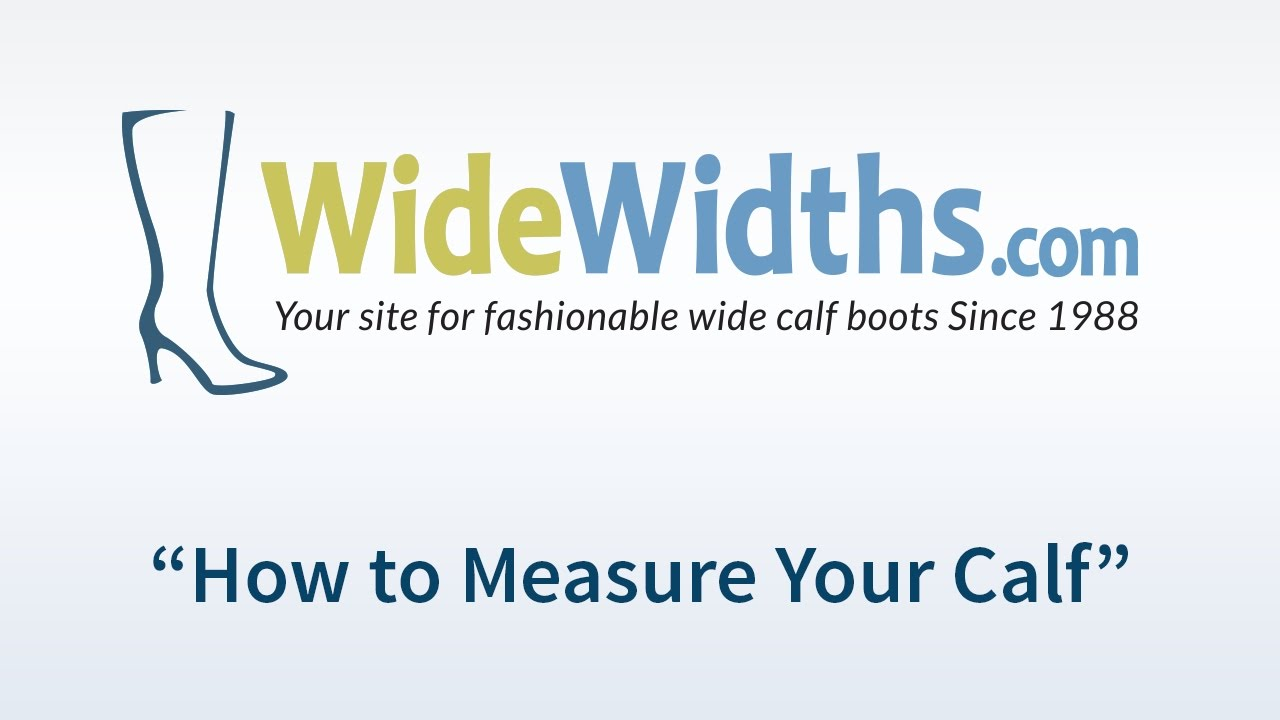 82ab46c6cf4b4 How to Choose the Correct Wide Calf Boot Size | WideWidths.com