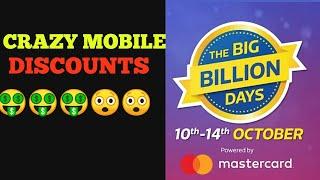 Deep Discounted Mobiles List on Flipkart Big Billion Days Sale (10-14 october)