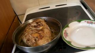 Готовим цыпленка Табака