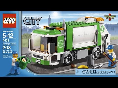 Lego City 4432 Мусоровоз
