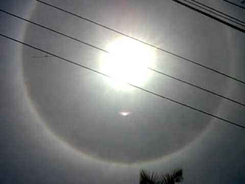 Asi se vio el sol desde acapulco guerrero