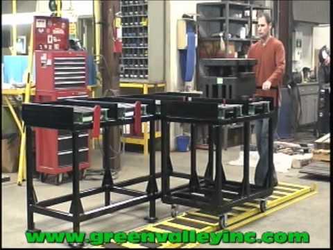 Titan Die Cart 2757: - 2 X 1200 lb.Capacity
