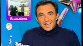 TF1 - 27 Novembre 2003 - Séquence + Début Star Academy 3