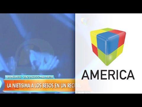 Video: Juana Viale a los besos con alguien que no es su novio
