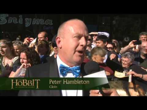 The Hobbit Premiere: Peter Hambleton