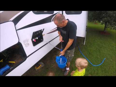 Sanitizing your RV Water System