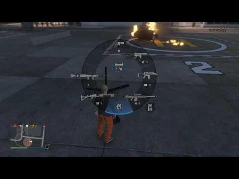 GTA 5 FLARE GUN GLITCHES