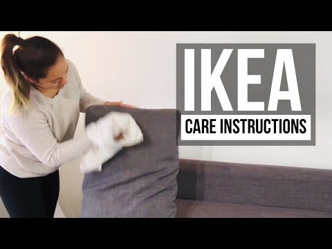 How to Clean IKEA Couch/Sofa | Properly wash without damaging | Care Instructions