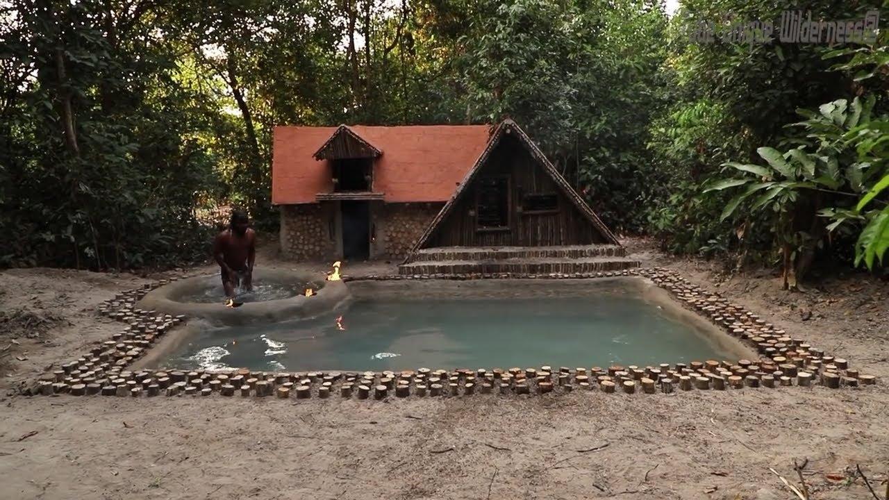 Xây Dựng Bể Bơi Tuyệt Vời Nhất Trước Biệt Thự Mùa